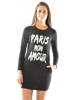Robe sweat Paris