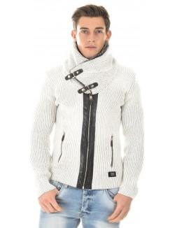 Gilet en laine zippé