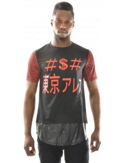 T-shirt homme oversize à motifs