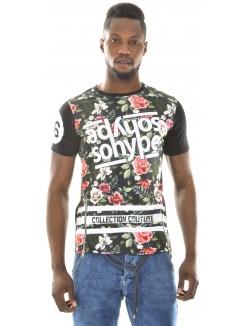 T-shirt So Hype fleurs