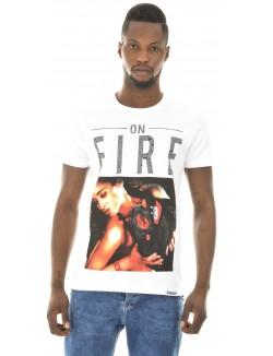 T-shirt Monsterpiece On Fire