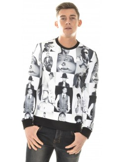 Sweat crewneck Justway Pharell Williams