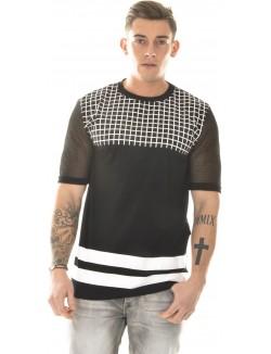T-shirt oversize graphique