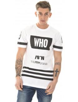 T-shirt oversize Who