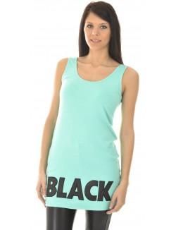 Débardeur oversize Black