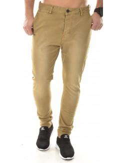 Pantalon chino délavé