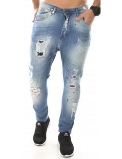 Jeans homme déchiré destroy