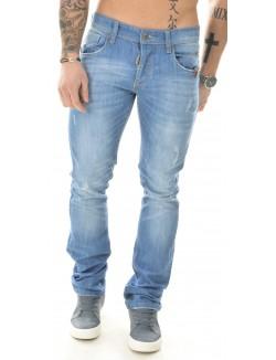 Jeans homme Biaggio bleu délavé
