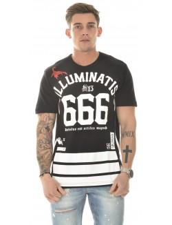 T-shirt Cash Money Illuminatis