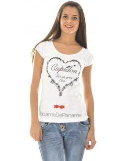 "T-shirt MadameDePaname ""Cupidon"""