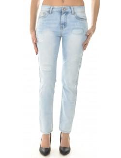 Jeans boyfriend usé