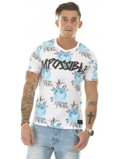 T-shirt Celebry Tees Impossible à roses