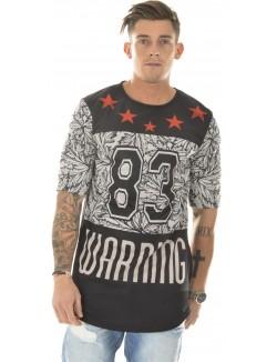 T-shirt homme oversize Warning 83