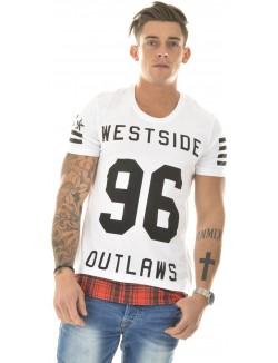 T-shirt homme By Studio oversize westside