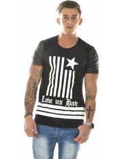 T-shirt By Studio oversize Love Hate