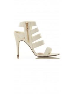Sandales à talons multibrides