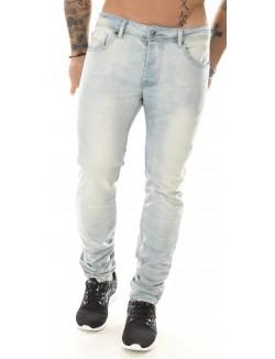 Jeans Projet X bleu clair délavé