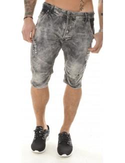 Bermuda en Jeans Armita gris délavé