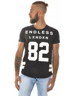 T-shirt homme oversize Endless 82