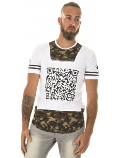 T-shirt Berry Denim oversize camo