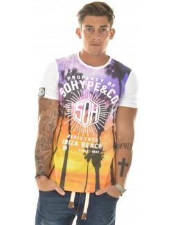 T-shirt So Hype à palmiers Ibiza
