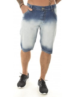 Bermuda en jeans Twister acid wash
