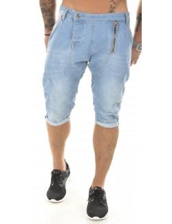 Bermuda sarouel en jeans Armita