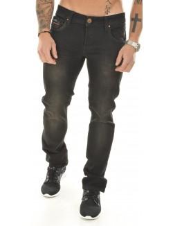 Jeans slim Twister noir brut