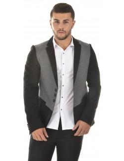Veste de costume homme bimatière