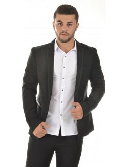 Veste de costume homme Ross Carra à bordure contrastantes