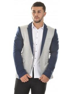 Veste de costume homme bi couleur