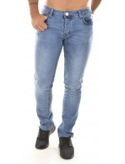Jeans slim Twister délavé