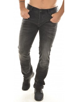 Jeans slim Twister noir stonewashed