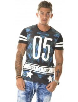 T-shirt By Studio oversize bimatière fight 05