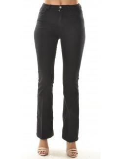 Pantalon taille haute bootcut