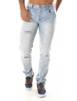 Jeans Sixth June délavé troué