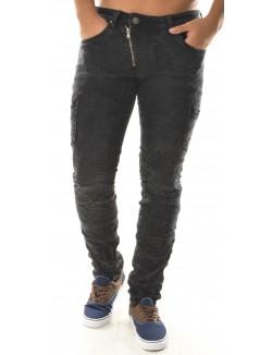 Pantalon homme effet délavé