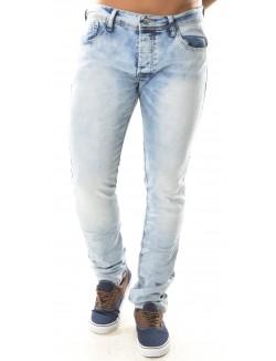 Jeans Gov Denim bleu clair délavé