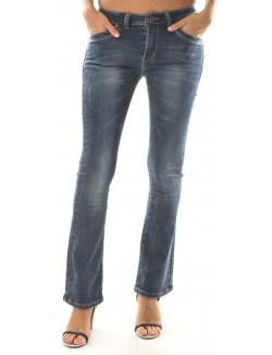 Flare Jeans délavé