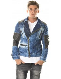 Veste en Jeans Exclusive asymétrique
