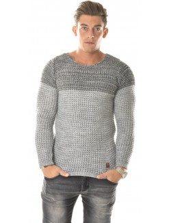 Pull Exclusive doux contrastant