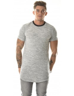 T-shirt John H oversize chiné