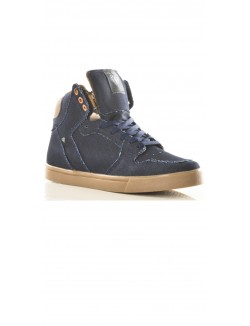 Baskets Cash-Money montantes denim