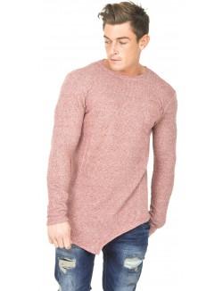 T-shirt chiné oversize