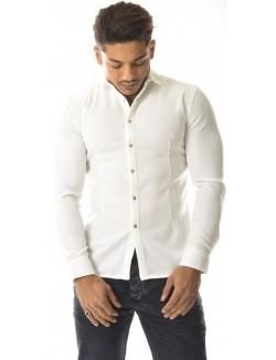 Chemise homme à reflets scintillants