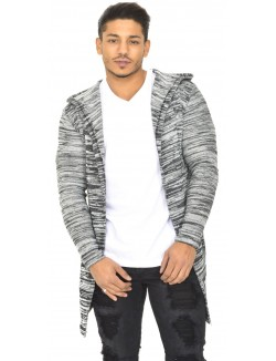 Gilet homme chiné oversize