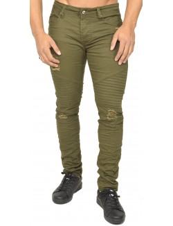 Jeans Gov Denim skinny motard effet destroy