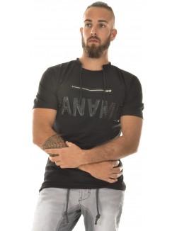T-shirt homme bimaitère Paname zippé