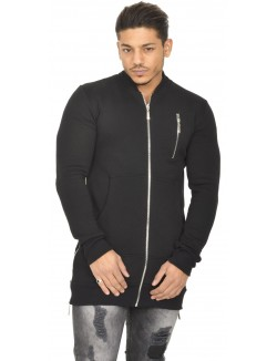 Sweat homme style bombers molletonné
