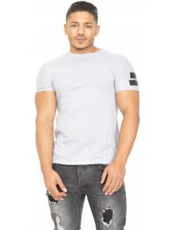 T-shirt John H asymétrique velcro